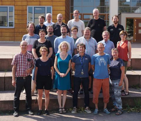 Lehrerteam des Bereichs der Medien-Berufe