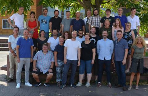 Lehrerteam des Bereichs der IT-Berufe