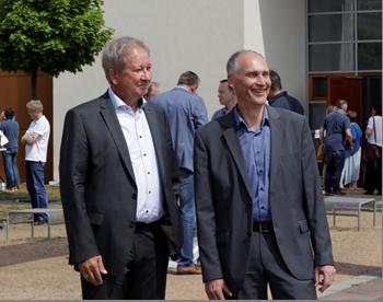 Helmut Raabe und Bertram Wolf